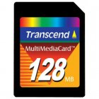 Transcend TS128MMC 128MB MULTIMEDIA CARD (MMC)