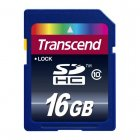 Transcend TS16GSDHC10 16GB SDHC CARD (SD 3.0 SPD Class10)