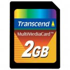 Transcend TS2GMMC 2GB MULTIMEDIA CARD (MMC)
