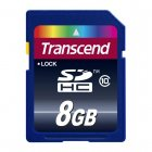 Transcend TS8GSDHC10 8GB SDHC CARD (SD 3.0 SPD Class 10)