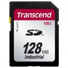 Transcend TS128MSD100I 128MB SD CARD (100X)