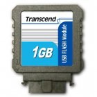 Transcend TS1GUFM-V 1GB USB Flash Module (Vertical)