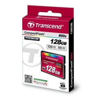 Transcend TS128GCF800 128GB CF CARD (800X, TYPE I )