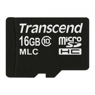 Transcend TS16GUSDC10M 16GB micro SDHC10(No Adapter)
