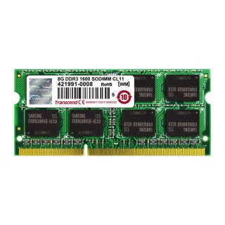 Transcend TS1GSK64V6H 8GB DDR3 PC1600 SO-DIMM 2Rx8