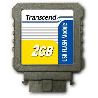 Transcend TS2GUFM-V 2GB USB Flash Module (Vertical)