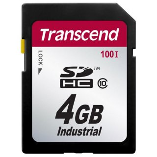 Transcend TS4GSDHC100I 4GB INDUSTRIAL SDHC Card (Class 10)
