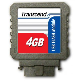 Transcend TS4GUFM-V 4GB USB Flash Module (Vertical)