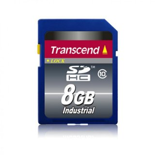 Transcend TS8GSDHC10I 8GB Industrial SDHC Card Class 10