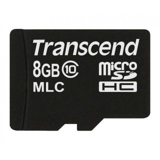 Transcend TS8GUSDC10M 8GB micro SDHC10(No Adapter)